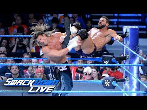 Bob Roode vs Dolph Ziggler  2outof3 Falls Match: SmackDown , Oct 31, 2017