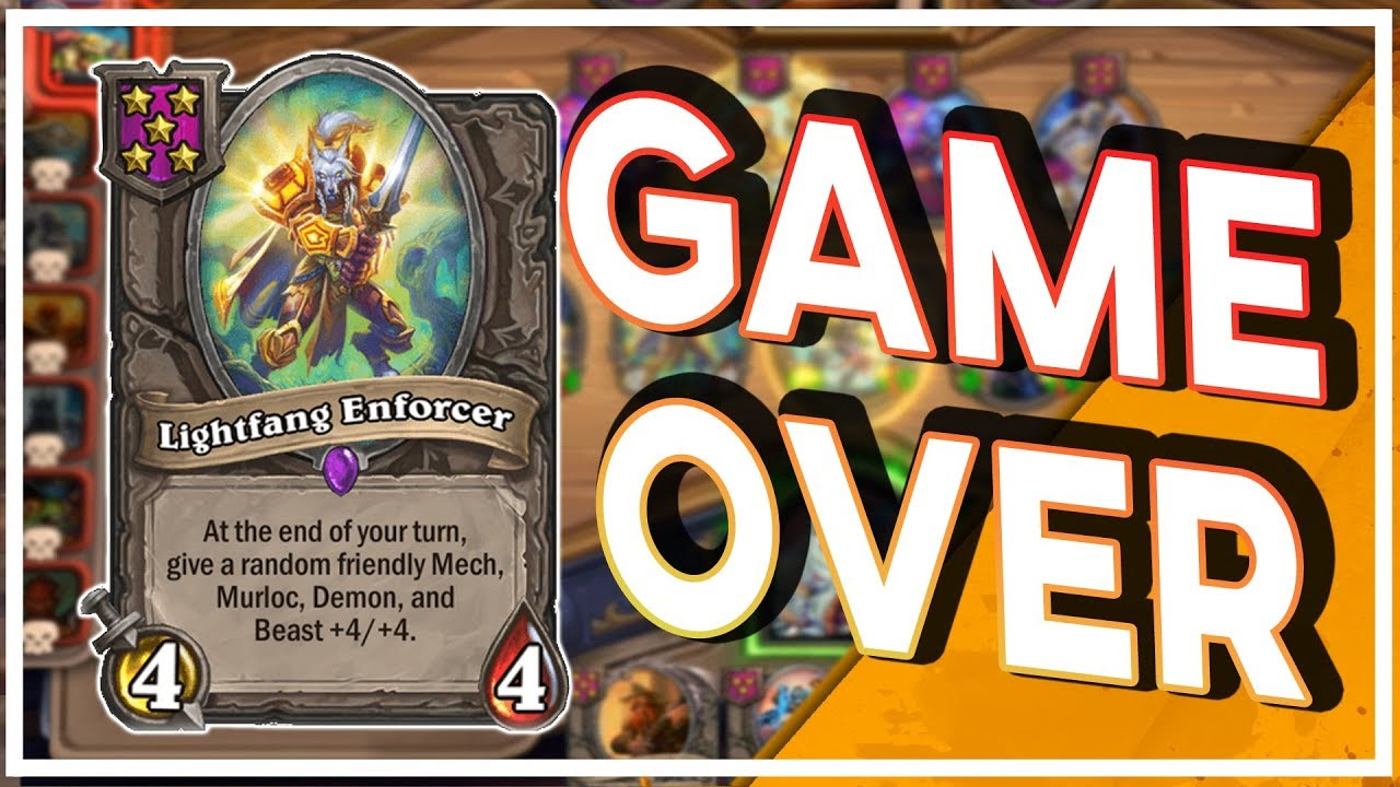 LightFang Early Is Game Over | Battlegrounds