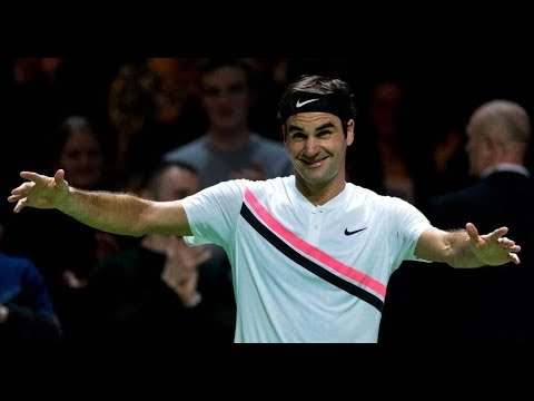 1fd924492 Best points between Roger Federer and Jack Sock in the 2018 Match for Africa  5