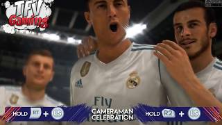 FIFA 18 ALL CELEBRATIONS TUTORIAL Xbox and Playstation