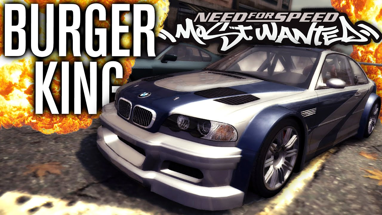 Its Back Burger King Challenge Need For Speed Most Wanted