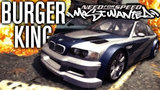 IT'S BACK!!! | BURGER KING CHALLENGE | Need for Speed Most Wanted