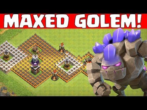 Maxed Golem gegen alle! || Clash of Clans || Let's Play CoC [Deutsch German]