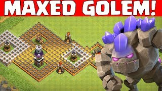 Maxed Golem gegen alle! || Clash of Clans || Let's Play CoC [Deutsch German]