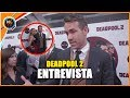 Ryan Reynolds Premier De Deadpool 2 - Entrevista (HD)