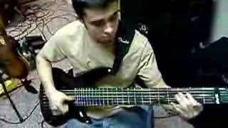 Slap Bass from Present Darkness Bassist Steffan Zarakas
