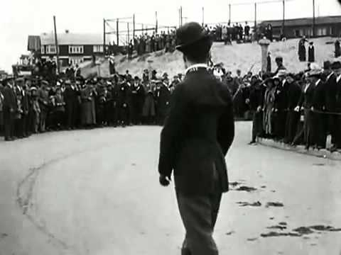 Image result for chaplin's kid in auto race
