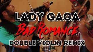 """Lady Gaga - """"Bad Romance"""" EPIC Double Violin Battle by Twins!"""