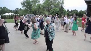 wedding happy flash mob