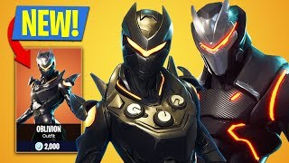 Fortnite *NEW* Legendary Oblivion Skin! (Fortnite Battle Royale)