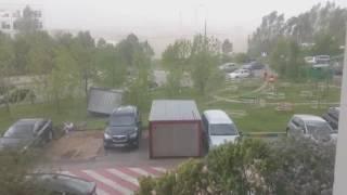 Ураган в МОСКВЕ! 29.05.17.