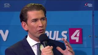 Sebastian Kurz zu möglichen Koalitionen