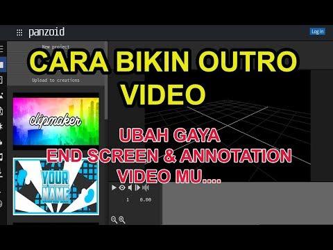 Cara Membuat Intro 3D Atau Opening Video Keren Untuk Menambah View
