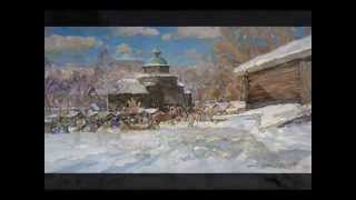 Alexander Shevelev painting - Seasons