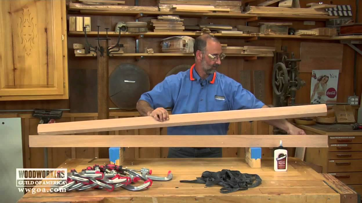 Woodworking Tips & Techniques: Joinery - Easy Column Assembly ...
