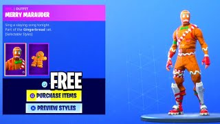 "How To Get ""MERRY MARAUDER"" Skin for FREE! - Fortnite How To Get FREE V-Bucks & FREE SKINS!"