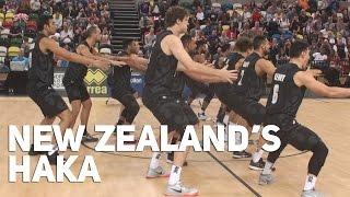 New Zealand Haka vs Great Britain Basketball at The Copper Box