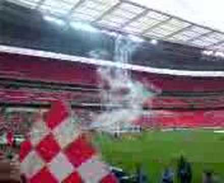 Exeter City v Cambridge United Playoff final at Wembley
