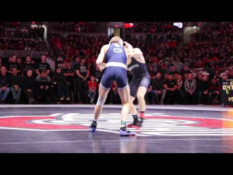 133 lbs George Carpenter, Penn State vs Nathan Tomasello, Ohio State