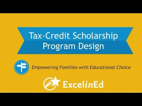 How are tax-credit scholarship programs designed?