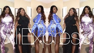 Baddie on a budget  AliExpress thick/plus size Winter haul 2018