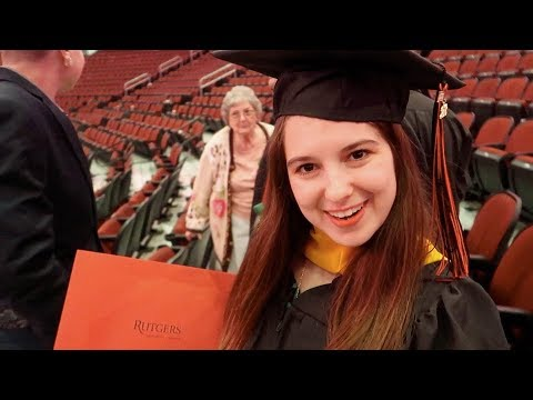I Graduated With My Master's! | Rutgers University Newark Commencement 2018