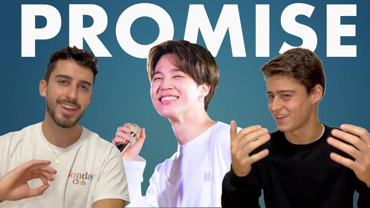 REACCION a PROMISE - JIMIN   Voz Celestial 😇 BTS