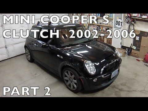 200206 MINI Cooper S Clutch Replacement Part 2 of 2