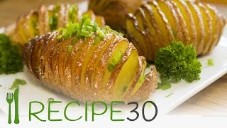 HASSELBACK POTATOES  the baked potato recipe