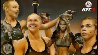 EA UFC 3 : Women's PPV Card UFC 01   Rose Namajunas vs Claduia Gadelha