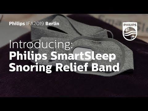 IFA 2019 | Philips SmartSleep Snoring Relief Band