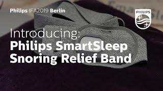 IFA 2019 | Philips SmartSleep Snoring Relief Band