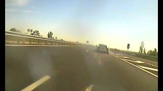 attempting to overtake Audi R8
