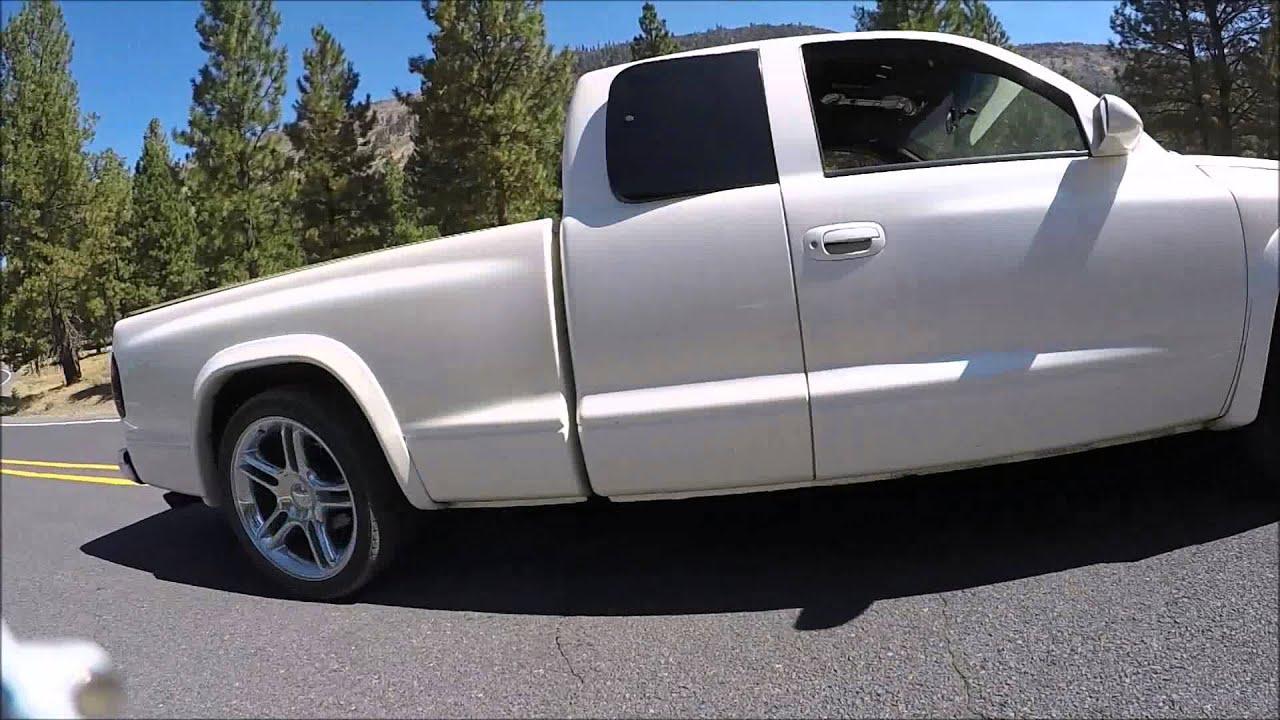Supercharged Dodge Dakota Burnout Youtube