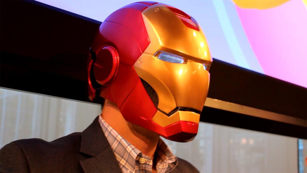 Marvel Legends Iron Man Electronic Helmet Amazon Exclusive