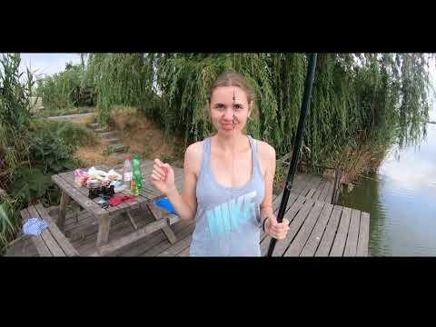рыбалка с женой