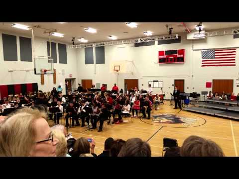 Memorial Park Middle School Advanced Band - Music from James Bond 007