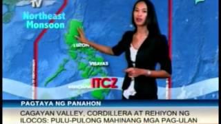 RadyoBisyon: ITCZ, nakakaapekto sa Mindanao [06:30 AM] [11/07/14]