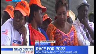 Hon Aisha Jumwa in deeper trouble after the heckle