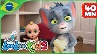 Hickory Dickory Dock - Música Infantil | LooLoo Kids Português