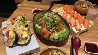 대구 약령시 맛집/ 후토마끼와 연어를 함께 즐길 수 있…