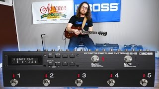 Austin Sandick demos the BOSS ES-5 Effects Switcher