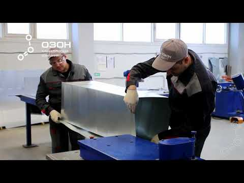 Производство прямоугольных воздуховодов из оцинкованной стали