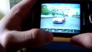 Samsung Galaxy 5 game (NFS Shift)