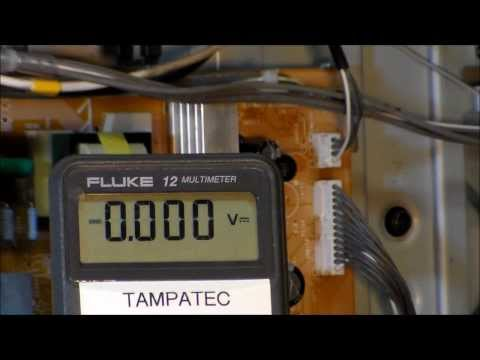How to use Multimeter testing TV power board