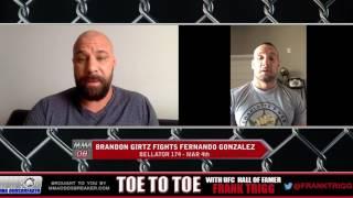 Trigg interviews Bellator 174's Brandon Girtz