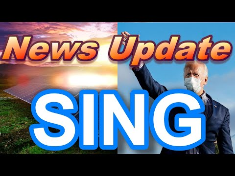 SING - News Update 🚀 ($1.5 Billion Bill for Clean Energy Microgrids)
