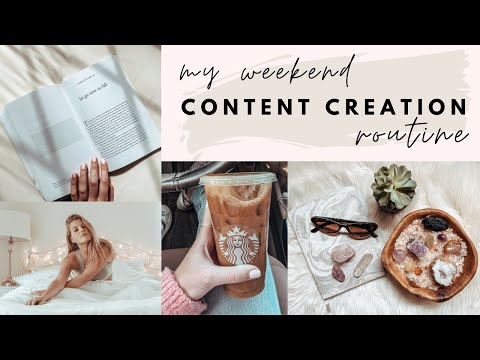How I Create Content for my Instagram + Blog