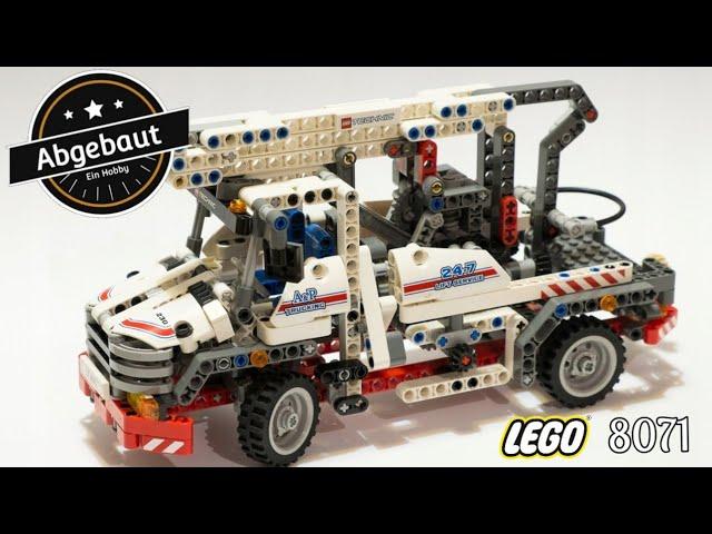 Lego Technic 8071 so muss das sein