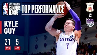 Kyle Guy's Strong Effort Leads Kings To Summer League Win  | July 6, 2019